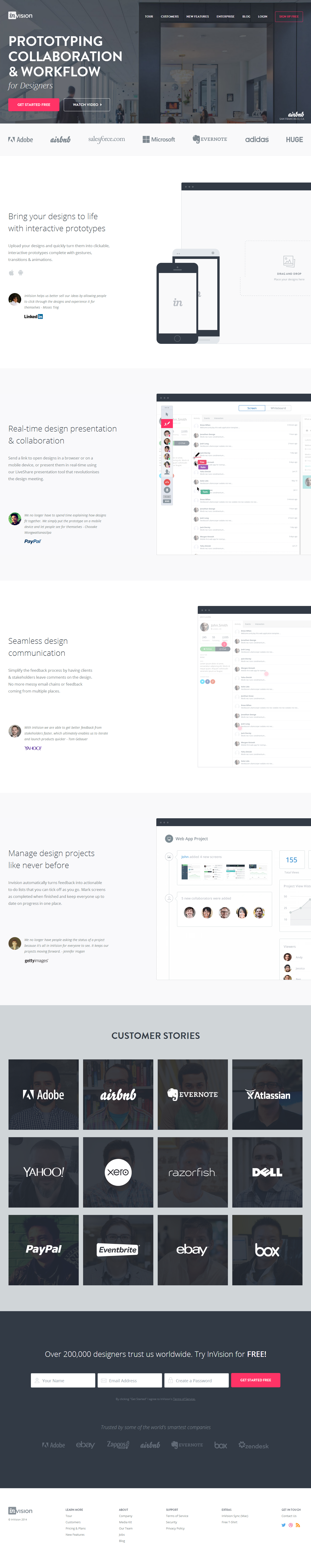 InVision – Free Web   Mobile Mockup and UI Prototyping Tool